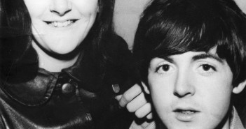 Photograph of Freda Kelly with Paul McArtney