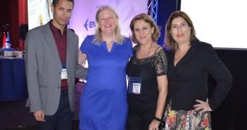 Eduardo Souza with Lucy Brazier