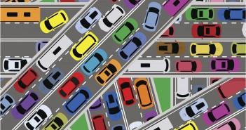 Traffic congestion on roads