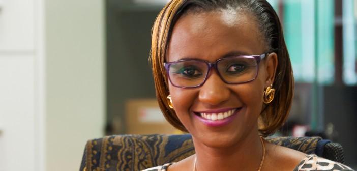 Headshot photograph of Kristine Wanjiru