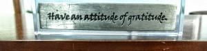 Kem Foley - Attitude desk ornament