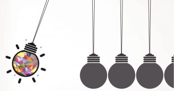 event management: Newton's cradle concept