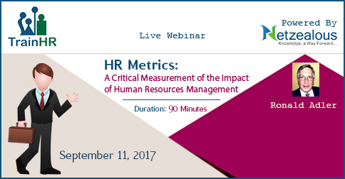 Hr Metrics: A Critical Measurement Of The Impact Of Human