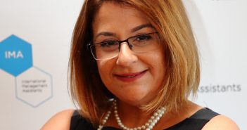 Headshot photograph of Menekşe Ahbab