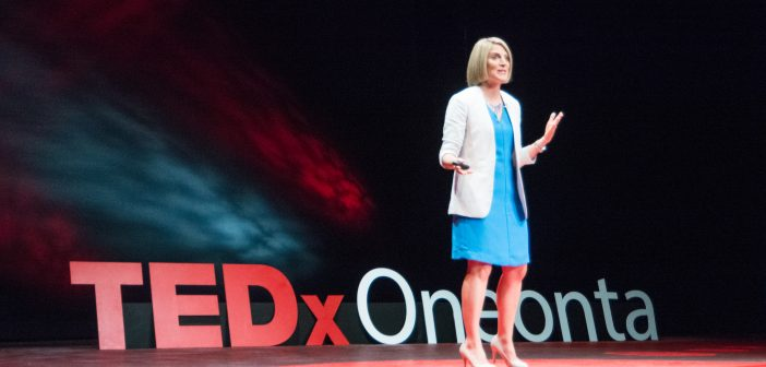 TEDxOneonta Lauren Parsons