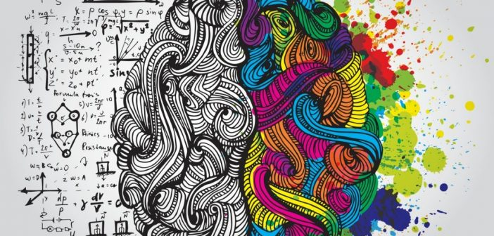 brain showing design thinking