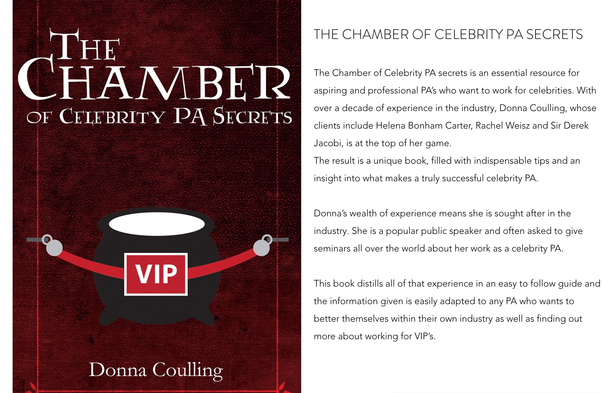 The Chamber of Celebrity PA Secrets