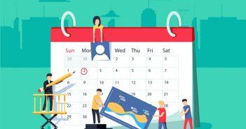 calendar for planning an event