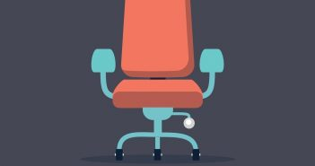 chair depicting a move to management
