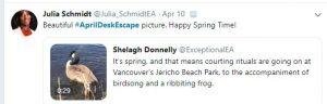 #aprildeskescape - vancouver