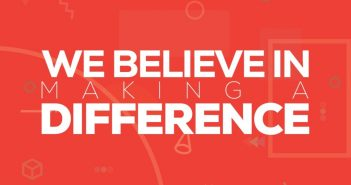What We Do: We Believe in Making A DIfference