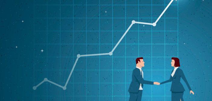 Graph: Strategic Business Partnership