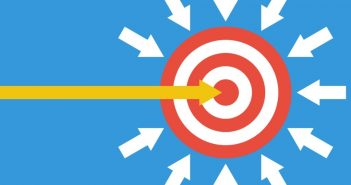 Your work image: arrows heading toward target