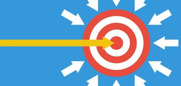 Your work image: arrows heading toward target