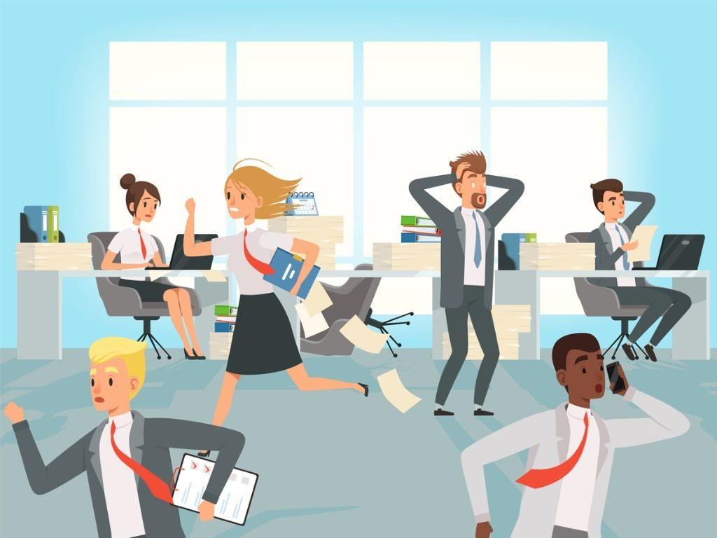 demanding workplace