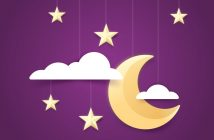 The Science of Sleep: crescent moon and stars