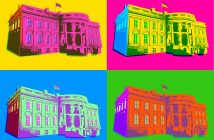 lead first pop art pictures of the white house