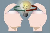Positive Influence: heads exchanging ideas