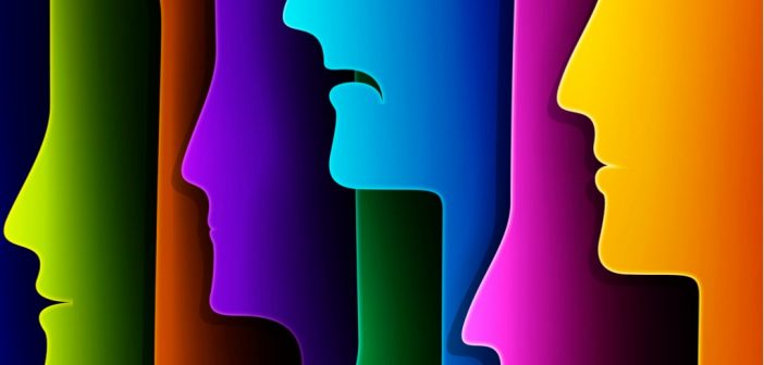 Boost Your Mental Health - silhouettes of heads with mouths downturned