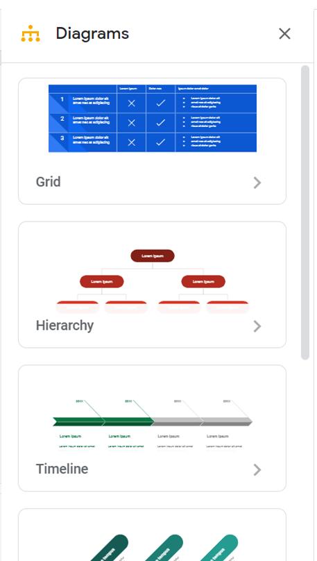 Google Workspace diagrams