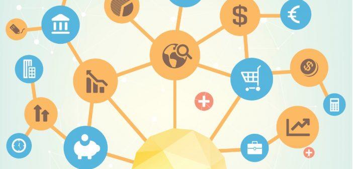 VA Entrepreneur - lightbulb with work icons
